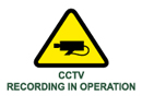 cctv recording in operation