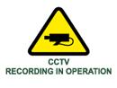 cctv recording in operation